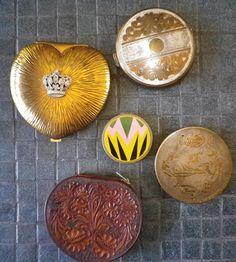 vintage art deco compacts
