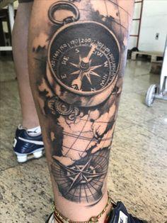 #bússola #compass #dioh #ubiratanamorim #tattoo