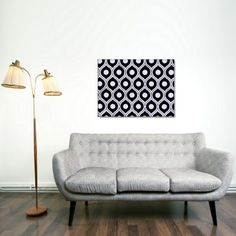 Florence Broadhurst Honeycomb Fabric Wall Art $550