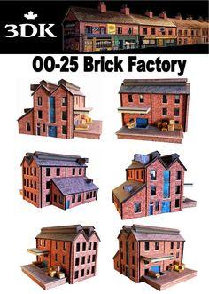 46 Best Model Railway Card Kits OO Gauge British Building Kits