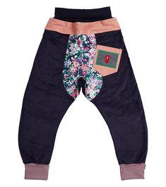 Sitting Pretty Harem Pant - Big, Oishi-m Clothing for Kids, Winter 2018, www.oishi-m.com