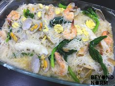 "Does it taste like Wan Tan Hor? Or maybe Singapore's Fried Hokkien Prawn Mee? That's for us to know and for you to find out when you try out this simple ""Sembawang"" Seafood White Beehoon recipe. Delicious to the very last scoop! http://beyondnorm.com/2017/06/06/sembawang-white-beehoon-recipe/"