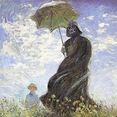 What Monet feels about Star Wars...