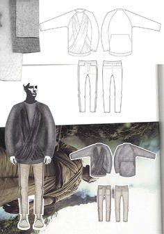 Fashion Sketchbook - fashion illustration; fashion drawings; fashion portfolio // Georgia Mottershead