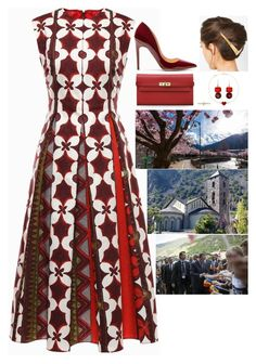 (Read) Attending events in Andorra as part of her first visit to the principality by fashion-royalty on Polyvore featuring polyvore fashion style Valentino Rupert Sanderson Hermès Van Cleef & Arpels Irene Neuwirth Lelet NY clothing