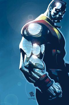 X-Men Colossus Bloodline 4 Marvel 2006 VF Chris Bachalo Mister Sinister Marvel Dc Comics, Marvel E Dc, Bd Comics, Marvel Heroes, Captain Marvel, Comic Book Characters, Comic Book Heroes, Marvel Characters, Comic Books Art
