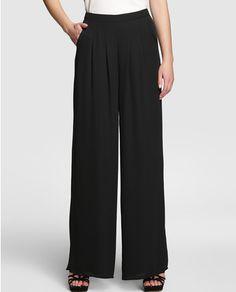 Pantalón ancho de mujer Easy Wear de gasa