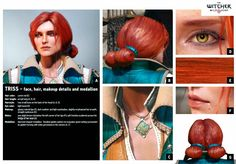 Triss Merigold The witcher 3 Triss Merigold Witcher 3, The Witcher Geralt, Witcher Art, Ciri, Triss Cosplay, Triss Merigold Cosplay, The Witcher Books, Female Armor, Cosplay Tutorial