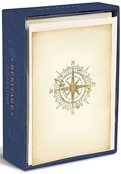 Heritage Compass Boxed Note Cards