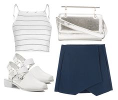 """""""Untitled #3149"""" by evalentina92 ❤ liked on Polyvore featuring Glamorous and M2Malletier"""