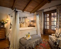 traditional bedroom by Nelson Barnum Interiors