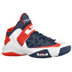 the latest 2d7af 1a03b Nike Zoom Soldier VI - Men s - Basketball - Shoes - White University Red