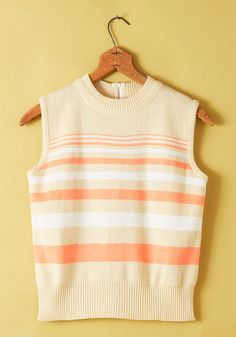 Vintage Dawn a Roll Vest, #ModCloth