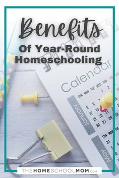 If you're like most people, the first day of school brings up images of crisp autum days.But what if your school year began in January and ran year-round? #homeschool #thehomeschoolmom School Six, First Day Of School, School Days, Learning Time, Learning Styles, Homeschool Curriculum, Homeschooling Resources, Benefits Of Homeschooling, Teaching Calendar
