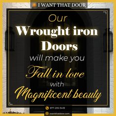 1500+ Iron Doors in Stock Free Local Delivery* Nationwide Shipping 25+ Years of Service Custom Orders Accepted (Any Size Any Design) .. Wrought Iron Doors Steel French Doors Sliding Doors Pivot Doors Bi-Fold Doors Pocket Doors Out-Swing Doors Garage Doors Barn Doors Patio Doors Steel French Windows Awning Windows Picture Windows Wrought Iron Gates and More . ☎️ 877-205-9418 🌐 www.iwantthatdoor.com .. *Free delivery is available for our Instagram followers within a 15-mile radius of our office.