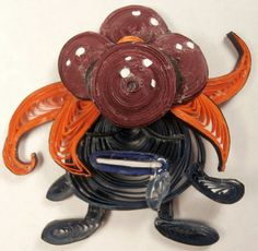 Paper Quilling Gloom - 044 by wholedwarf.deviantart.com on @deviantART