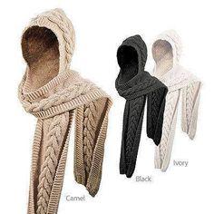 capos bufandas/ropa mujer/ropa del invierno / regalo accesorio gris ideas para damas/sombreros/cachuchas /