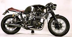 ϟ Hell Kustom ϟ: Triumph Bonneville By Shibuya Garage Vintage Bikes, Vintage Motorcycles, Custom Motorcycles, Custom Bikes, Triumph Scrambler, Triumph Bonneville, Triumph Motorcycles, Bmw 520, Mv Agusta