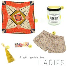 ethical gift guide - ladies. From www.collectionofgood.com - a blog on ethical living.