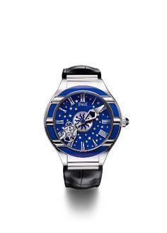 Piaget Polo Tourbillon Relatif is a unique enamel watch