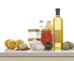 kitchen skin care for a homemade spa
