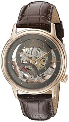 Men's Wrist Watches - Stuhrling Original Mens 78203 Legacy Analog Display Automatic Self Wind Brown Watch * Visit the image link more details. (This is an Amazon affiliate link)
