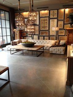 The Glamorous Historian, living room