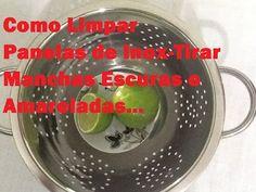 Como eliminar até as manchas mais difíceis de panelas e frigideiras   Ana Maria Braga