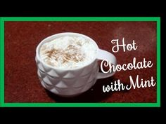 This is my simple recipe of hot chocolate with mint using green tea. You can also use the same to make chocolate shake with mint. Ingredients: Hot w. Mint Recipes, Chocolate Shake, Dessert Recipes, Desserts, Easy Meals, Tea, Tableware, How To Make, Food