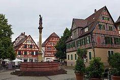 Marktplatz, Ladenburg Benz, Germany, Mansions, House Styles, Home Decor, Old Town, Holy Spirit, Mansion Houses, Homemade Home Decor
