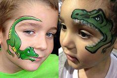 Christina Kerr Davison Dino Face Painting Designs                                                                                                                                                                                 More