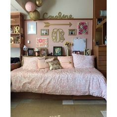 Texas Tech dorm room. Chitwood hall ❤ liked on Polyvore featuring home and home decor
