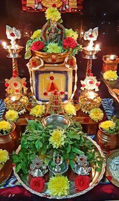 Diwali Decorations, Table Decorations, Silver Pooja Items, Good Morning Saturday, Lord Balaji, Mahakal Shiva, Lord Vishnu Wallpapers, Lord Shiva Painting, Puja Room