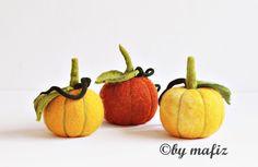 Pompoen Halloween decoratie voor Tuin Appartement beeldhouwkunst van vilt