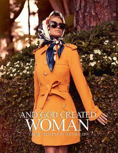 Smartologie: Carmen Electra for Schön Magazine October 2012