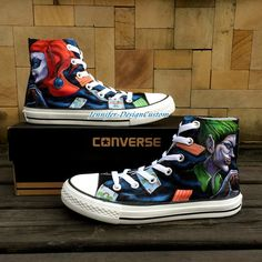 57136e405f1f Hand Painted Shoes Custom Birthday Gifts Memorial Gifts Christma