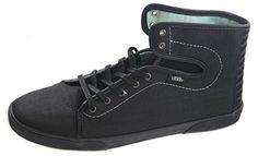 Vans Hadley Womens Women's Skateboarding Shoesing Shoes Xtuff Black Bay 10 -- More info could be found at the image url.(This is an Amazon affiliate link and I receive a commission for the sales)