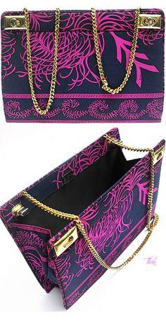 EMILIO PUCCI                                                                                                                    Vintage 60s Silk Handbag