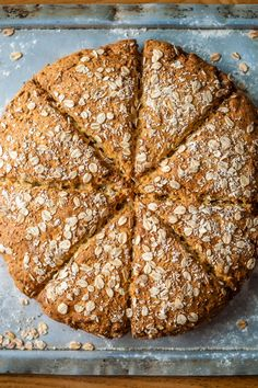 Whipped up in less than an hour, Russell Brown's gluten-free bread recipe is ideal for a midweek dinner. Eggs are not traditionally used in soda bread recipes, but Russell has found that they help to bind the dough together. If you don't have a steam oven, follow the cooking method provided in step 7 and beyond. For more gluten free recipes, visit our collection.
