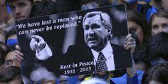 tribute by Duke students during Duke Carolina game