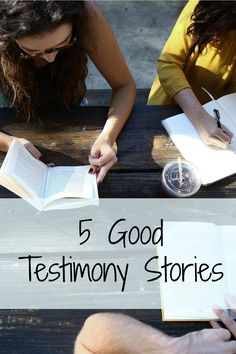 5 Quick story ideas to share how God is a t work in your life. Pick one and write it up in your journal