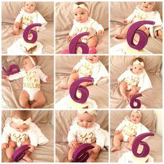 happybirthday! 6 months baby girl