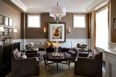GREAT CHANDELIER - Living Rooms & Family Rooms | Jane Lockhart Interior Design