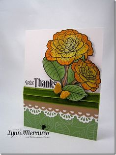 A gift of thanks created with a new set from Waltzingmouse Stamps - Camellia.