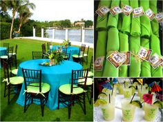 Tiki Lounge party ideas