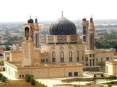 Moba Mosque in Baghdad, Iraq