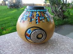 gourd+art | SOUTHWESTERN GOURD ART