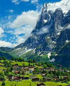 Grindelwald, Switzerland.
