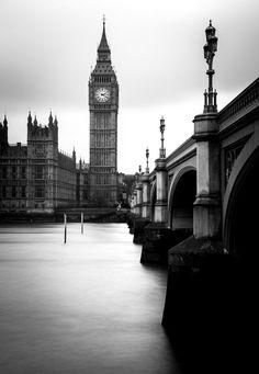 London Monochrome Print Big Ben by PixelgloPhotography on Etsy