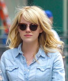 13 Ways To Wear The New Cool Girl Haircut // #EmmaStone #bangs #bob